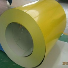 Yellow Color Coated Steel Coil