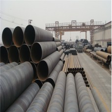 ASTM A252 piling welded ssaw spiral steel pipes