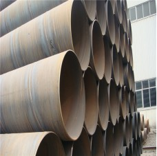 BS S235JR SSAW spiral steel pipe from China