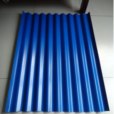 blue color corrugated roof sheets