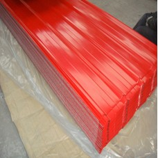 Red Color Corrugated Roofing Sheet