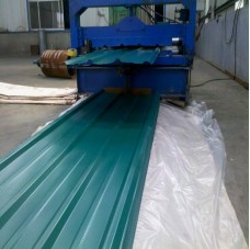 Prepainted corrugated steel roofing sheet factory