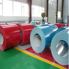 Various color 0.13-1.2mm Color Coated Steel Coil