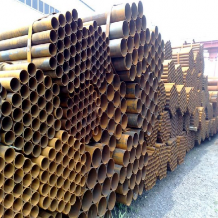 Q235B ERW carbon welded steel pipe factory
