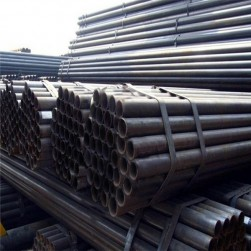Q235 hot rolled welded steel pipe manufacturer