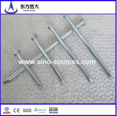 Galvanized steel concrete nails (factory)
