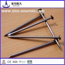 Galvanized umbrella head iron nail