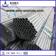 2.5 and 3.5 inch galvanized Steel pipe manufacturer