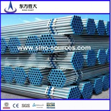 ASTM A53 Grade B carbon steel pipe with galvanized or oil in the surface