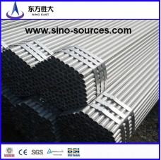 ASTM A53 GR-B hot rolled  galvanized steel pipe