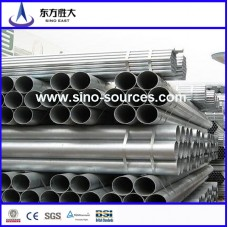 ASTM A53 round hot dipped galvanized steel pipe/tube factory