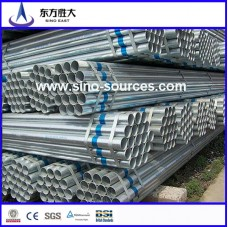 ASTM A53 CR  GI ROUND PIPE OD :19-100MM