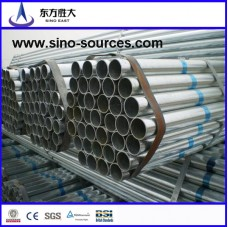 Galvanized steel pipe in china for construction