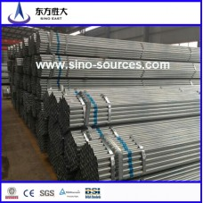 Galvanized steel pipe for construction bs1139 en74