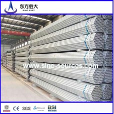 galvanized steel pipe with threaded and socket chinese factory