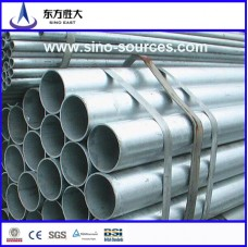 High quality low pressure fluid round galvanized steel pipe