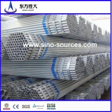 hot dip galvanized steel pipe for fence