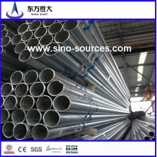 Hot galvanized steel pipe made in Gambia