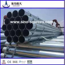 hot promotion galvanized steel pipe for scaffolding