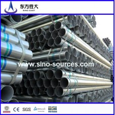 hot rolled galvanized steel pipe for constructure