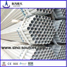 hot sale thin wall galvanized steel pipe