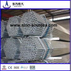 ISO 9001 hot dip gi pipe