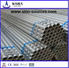 Q345 galvanized pipe threaded TCT 3mm