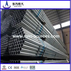 sch40 mild steel galvanized hollow tube