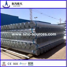 THREAD AND SOCKED HOT DIP GALVANIZED STEEL PIPE