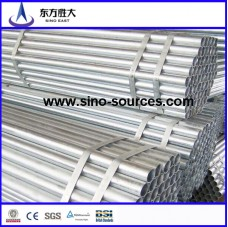 Hot galvanized steel tude in Senegal