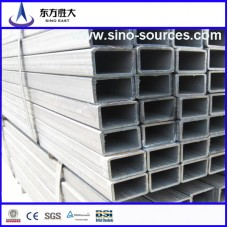 bs 1387 60*250 galvanized  rectangular steel pipe