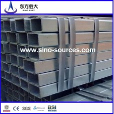 astm a500 60*15 hot dip galvanized rectangular steel pipes