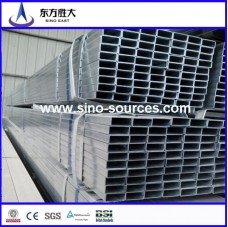 astm a500GR.A.B.C 30*40hot dipped galvanized rectangular steel pipe