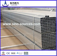 ERW hot dipped galvanized Square Steel Pipe S235JR