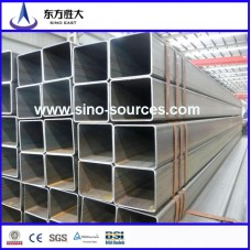 hot dip galvanized square pipe for construction, steel structure