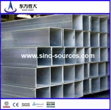 hot sale galvanized square steel pipe