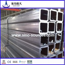 "Pre-Galvanized Square Steel Pipe/Tube 1/2""-4"""