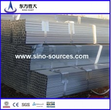 Q195ms galvanized GI square pipes from china