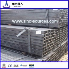 sch40 50*25 hot rolled rectangular steel hollow section