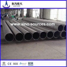 Black steel seamless pipes made in china