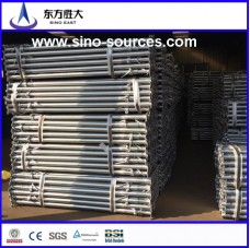 bs1139 48×3.0m red painted scaffolding steel pipe