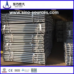 bs1139 48*3.0m red painted scaffolding steel pipe