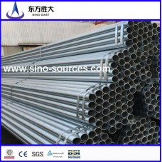 Q235 48mm scaffolding galvanized steel pipes