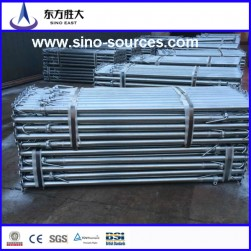 rigid Q235 38MM  scaffolding steel pipe for construction