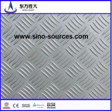 steel checkered plate size