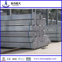 2x4 pre galvanized rectangular steel pipe