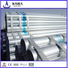High Quality steel galvanized pipes for greenhouse supplier in China