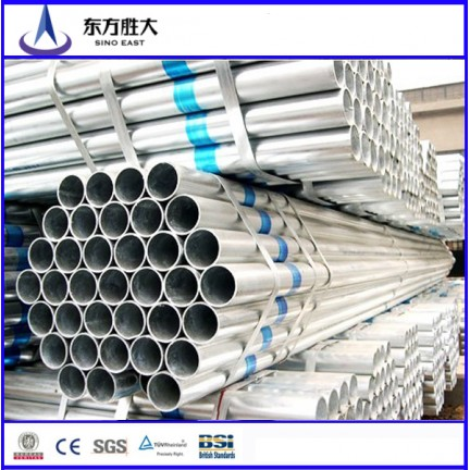 BS1139 hot dip galvanized scaffolding steel pipe