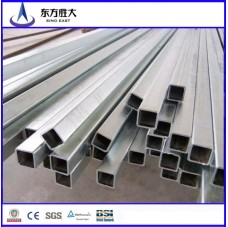 High quality Hot dipped rectangular steel pipes prices