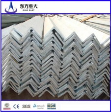 high quality q235 equal unequal black & galvanized steel angle bar